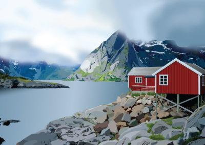 Norway mountain